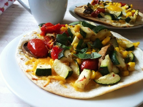 Three-Ways Roasted Vegetable Soft Tacos | Cooking with a Wallflower