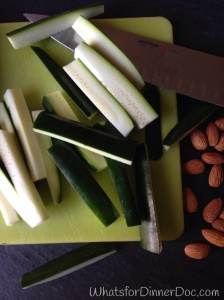 Grain Free Baked Zucchini Sticks