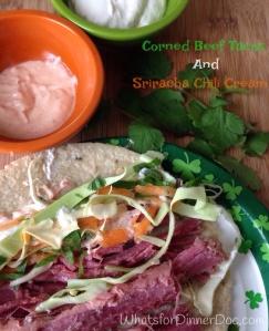 Corned beef tacos