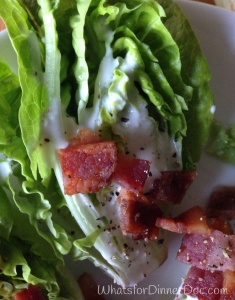 Baby Lettuce Blue Cheese Wedge Salad