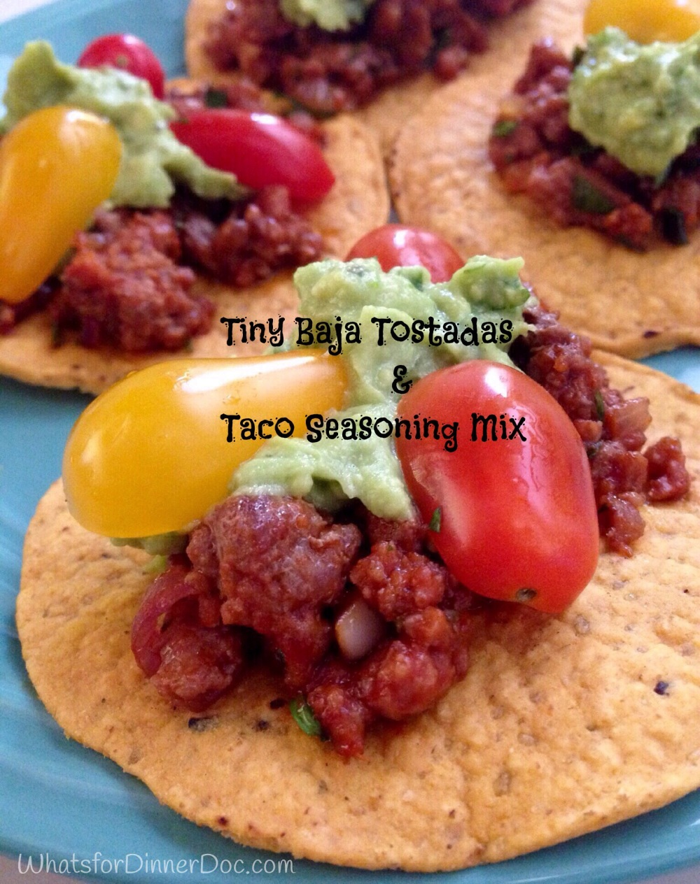 Tiny Baja Tostadas