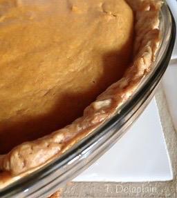 Easy pumpkin pie/MyBajaKitchen.com