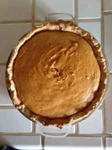 Easy Pumpkin Pie, 4 Ingredients/ MyBajaKitchen.com