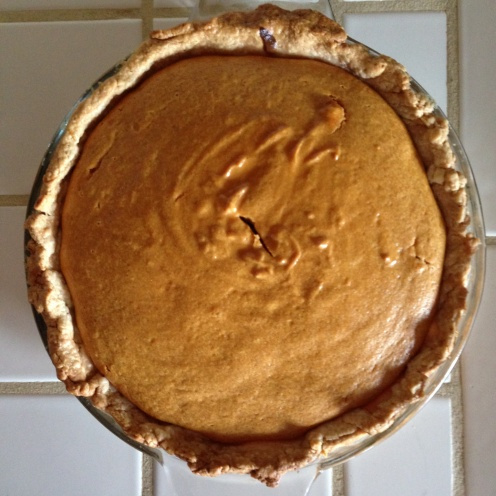Easy Pumpkin Pie, 4 Ingredients/ MyBajaKitchen.com