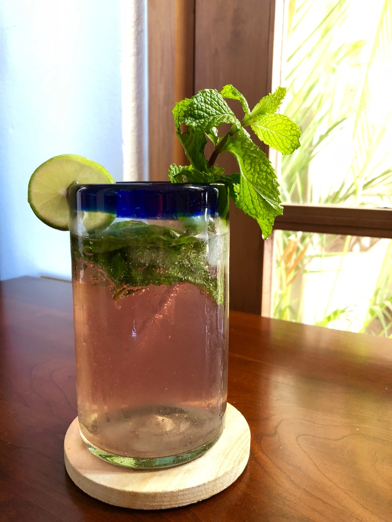 Cranberry Mint Mojita Mocktail
